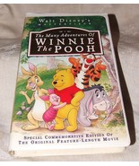 1996 VHS Tape The Many Adventures of Winnie the Pooh Walt Disney Special... - $5.00