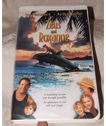 1997 VHS Movie Zeus and Roxanne Dog and Dolphin Hard Clamshell Case - $5.00
