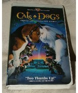 VHS Tape 2001 CATS & DOGS Things are Gonna Get Hairy Fantasy Clamshell C... - $5.00