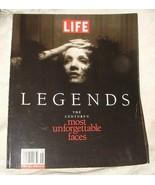 1997 LIFE LEGENDS The Century's Most Unforgettable Faces WONDERFUL IMAGES - $10.00