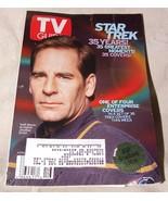 April 20-26 2002 TV GUIDE STAR TREK 35 YEAR Scott Bakula Captain Jonatha... - $10.00