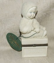 2001 Dept 56 Snowbaby 2 pc Get Well Soon with Hang Tag #69280 No Box - $8.00
