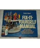 1980 Reader's Digest Fix-It-Yourself Manual 5th printing Repair Everything - $8.00