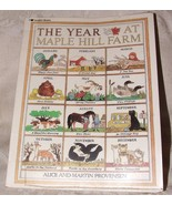1988 1st The Year at Maple Hill Farm Alice & Martin Provensen Paperback ... - $8.00