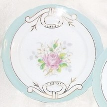 BEAUTIFUL Antique 1880s CABINET PLATE Austria Rose Transfer Hand Painted... - $25.00