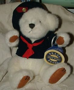 Primary image for 1996 Brass Button Bear Happiness Taylor the Sailor L@@K