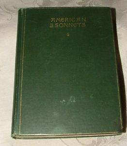 Primary image for RARE 1890 American Sonnets 1st T W Higginson & E H Bigelow