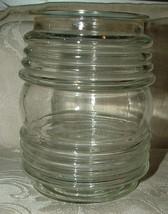 Manhattan Anchor Hocking Clear Glass Hanging Light Fixture Cover Mid Cen... - $35.00