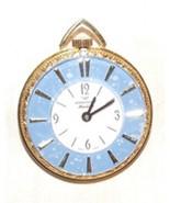 1970s American Heritage Swiss Hand Wind Ladies Pendant Pocket Watch WORK... - $125.00