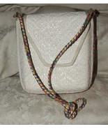 Vintage 1960s Novelli of Florence Italy by Ennelinea STRAW Shoulder Bag - $50.00