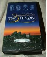 The Three Tenors 1994 LA Concert VHS Tape Carreras Domingo Pavarotti Mehta - $8.00
