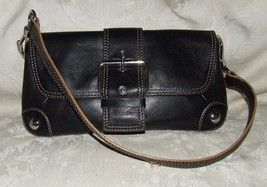 VINTAGE 1990s KENNETH COLE Brown Leather Conver... - $85.00