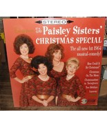 """1998 Huge 40""""x40"""" Theater Poster BILLBOARD The Paisley Sisters Christmas... - $148.50"""