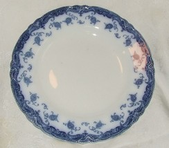 ANTIQUE 1907 MEAKIN OLYMPIA Flow Blue DINNER PLATE Staffordshire Fine Co... - $29.70