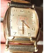 1957 Wittnauer Wrist Watch NHS ALL AMERICAN AWARDS Swiss Movement - $450.00
