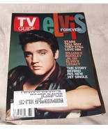 Aug 17 - 23 2002 TV GUIDE ELVIS PRESLEY Elvis Forever! Non Hologram Cover - $12.00