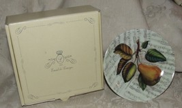 Concerto FOOTED CANAPE by Email de Limoges Pear Musical Notes BOX Goding... - $35.00