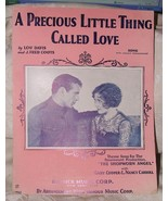 1928 Sheet Precious Little Thing Called Love Shopworn Angel GARY COOPER ... - $10.00