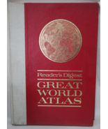Great World Atlas 1963 w/ DJ Reader's Digest 2nd Edition - $12.95