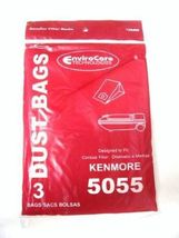 ENVIROCARE KENMORE 5055--3 BAGS IN A PACK VACUUM CLEANER BAGS - $4.95