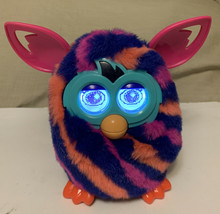 2012 Hasbro Interactive Furby Boom Sunny Stripes - Tested & Works!! - $31.46