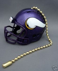 LIGHT/FAN PULL & CHAIN MINNESOTA VIKINGS NFL FOOTBALL
