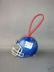 FOOTBALL HELMET CHRISTMAS ORNAMENT NEW YORK GIANTS NFL