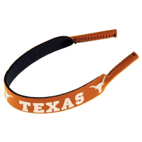 TEXAS LONGHORNS CROAKIES SUNGLASSES EYEGLASS STRAP NCAA