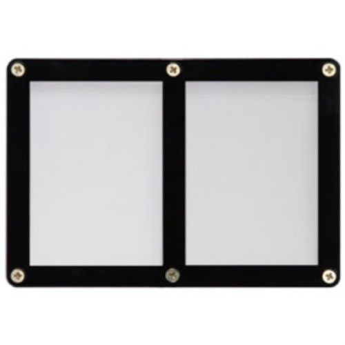 2 TRADING CARD BLACK FRAME SCREWDOWN ULTRA CLEAR HOLDER by ULTRA PRO