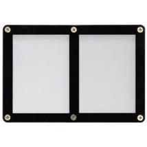 2 TRADING CARD BLACK FRAME SCREWDOWN ULTRA CLEAR HOLDER by ULTRA PRO - $2.90