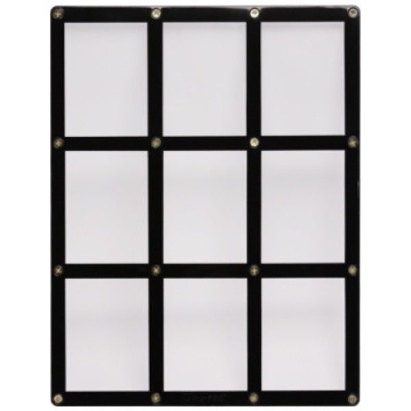 9 TRADING CARD BLACK FRAME SCREWDOWN ULTRA CLEAR HOLDER by ULTRA PRO #1