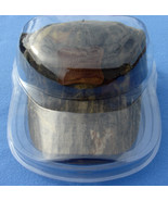CAP HAT DISPLAY CASE HOLDER SOFT SHELL SUPER CLEAR HUNTING BASEBALL FOOT... - $12.43