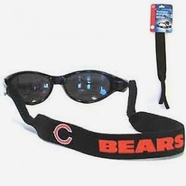 CHICAGO BEARS CROAKIES SUNGLASSES EYEGLASS STRAP NFL FOOTBALL