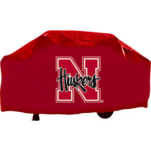 NEBRASKA HUSKERS ECONOMY BARBEQUE GRILL COVER