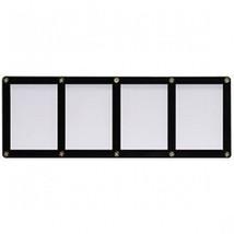 FOUR TRADING CARD BLACK FRAME SCREWDOWN ULTRA CLEAR HOLDER by ULTRA PRO - $9.40