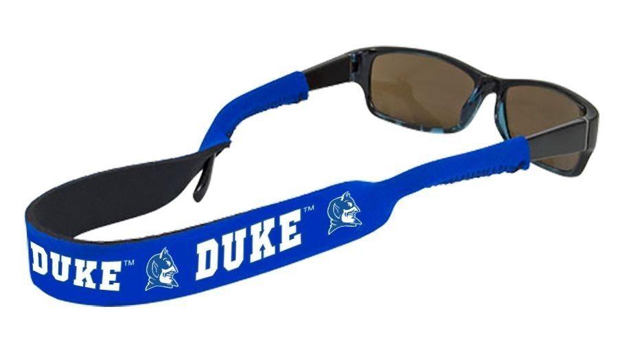 DUKE BLUE DEVILS CROAKIES SUNGLASSES EYEGLASS STRAP NCAA