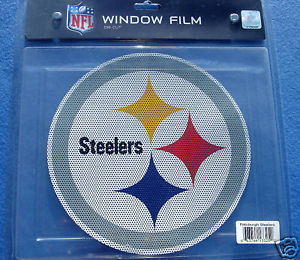 CAR WINDOW FILM DECAL PITTSBURGH STEELERS NFL FOOTBALL