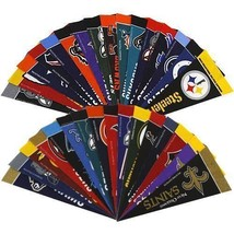 "32 TEAMS NFL FOOTBALL FELT MINI PENNANTS SET 4"" X 9"" OFFICIALLY LICENSED - $186,55 MXN"