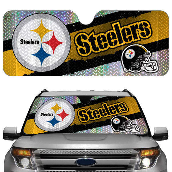 PITTSBURGH STEELERS CAR AUTO WINDSHIELD SUN SHADE NFL FOOTBALL