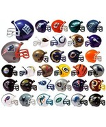 FREE SHIP NFL 32 TEAM (NEW LOGO) MINI MICRO FOOTBALL HELMET SET made by ... - $24.60