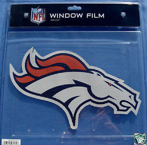 BIG-CAR WINDOW FILM DECAL DENVER BRONCOS NFL FOOTBALL