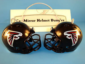 ATLANTA FALCONS CAR MIRROR NFL FOOTBALL HELMET DANGLER - HANG FROM ANYTHING!