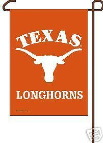 GARDEN/YARD/WALL BANNER  FLAG TEXAS LONGHORNS