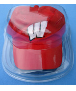 CAP DISPLAY CASE HOLDER SOFT SHELL SUPER CLEAR NCAA COLLEGE FOOTBALL - $12.30