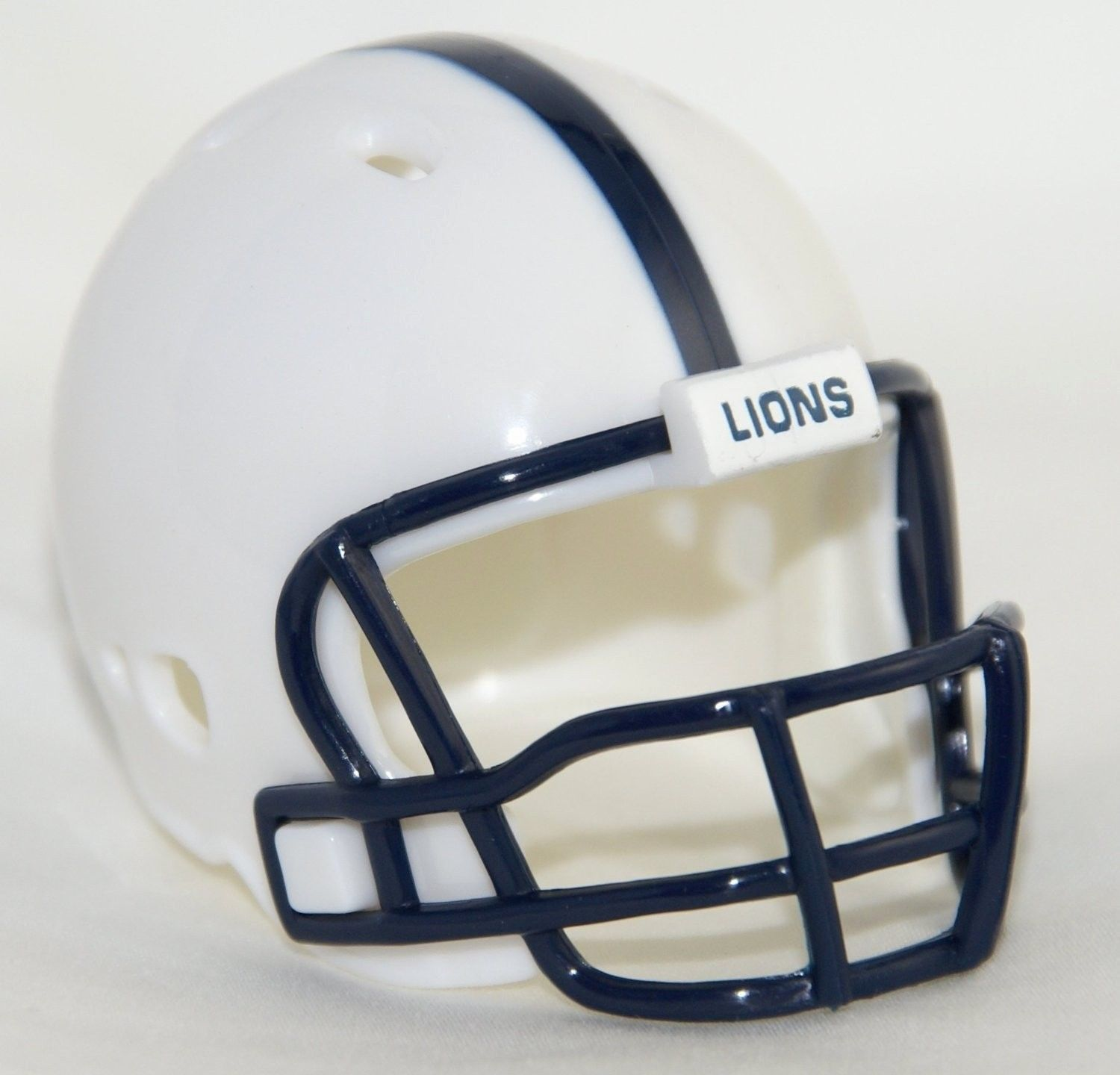 "2 PENN STATE NITTANY LIONS POCKET PRO FOOTBALL HELMET 2"" SIZE  Made By RIDDELL!"