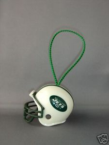 NFL  FOOTBALL HELMET CHRISTMAS ORNAMENT NEW YORK JETS