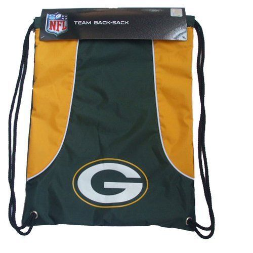 GREEN BAY PACKERS BACK SACK PACK SCHOOL GYM BAG NFL FOOTBALL