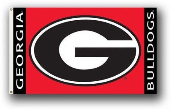 *BIG* GEORGIA BULLDOGS PREMIUM 3' X 5' FLAG BANNER WALL DECORATION NCAA