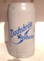 Dachs Brau Weilheim Bavaria Masskrug German Beer Stein - $19.95