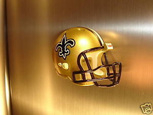 NEW ORLEANS SAINTS FRIDGE REFRIGERATOR MAGNET NFL FOOTBALL HELMET